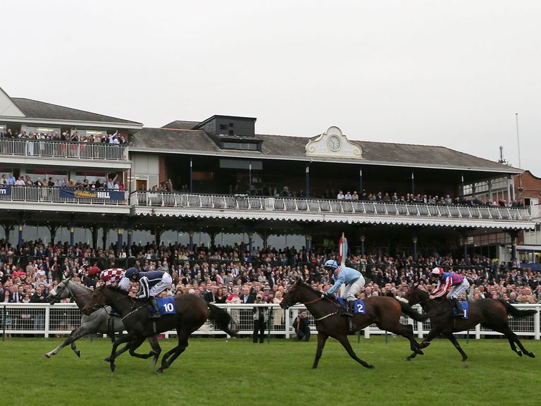 Ayr: Fit to race