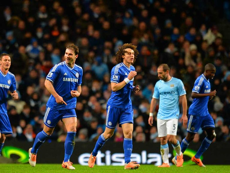Chelsea left the Etihad with all three points