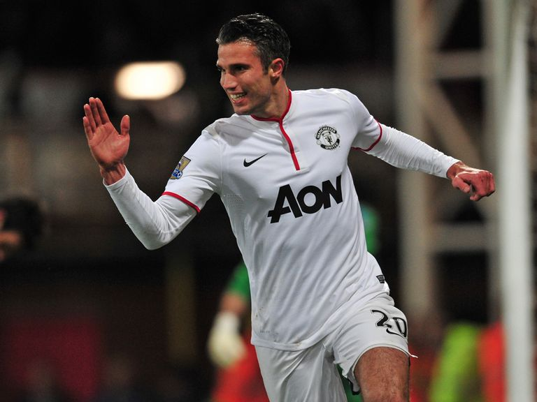 Robin van Persie: In the goals for Manchester United