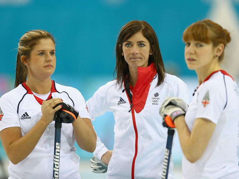 Eve Muirhead (c): Led Great Britain to victory