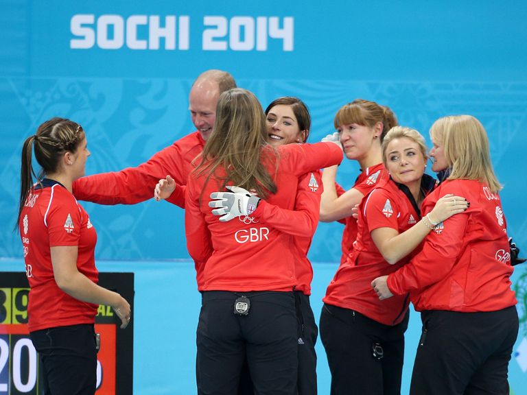 Medal joy for Great Britain's curlers