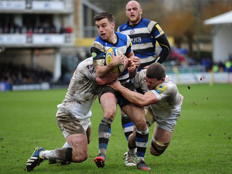 George Ford: In England's matchday squad
