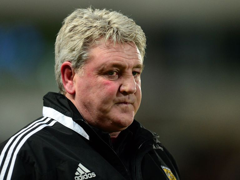 Steve Bruce's Hull head to Brighton on Monday
