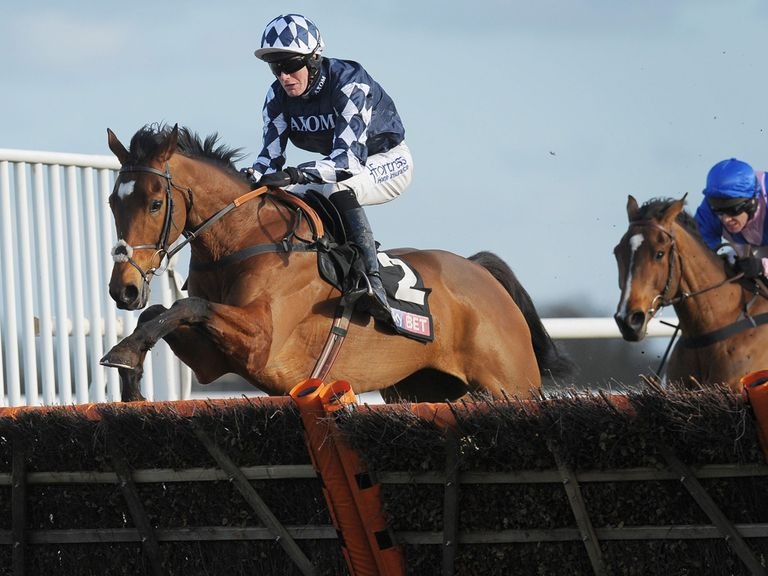 Irving ran out a very easy winner of the Dovecote Hurdle
