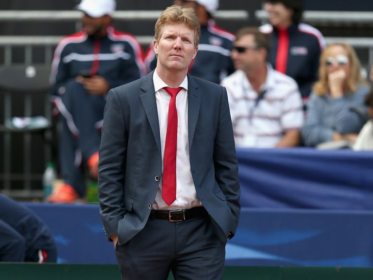 Jim Courier: Said he would choose clay again if offered the chance