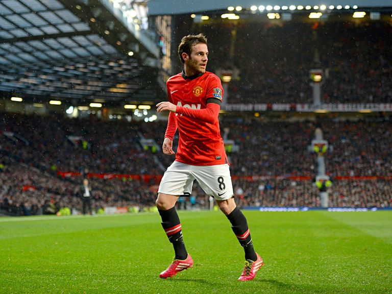 Juan Mata: I am happy at Manchester United