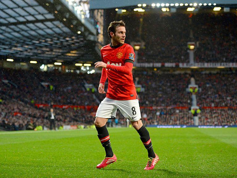 Juan Mata: I am happy at Manchester United