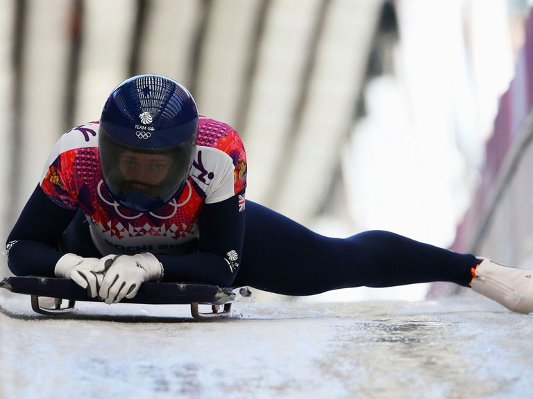 Lizzy Yarnold: On course for gold in the skeleton
