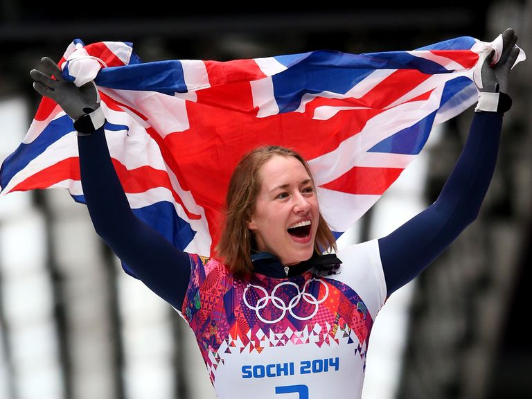 Lizzy Yarnold has struck at the Winter Olympics