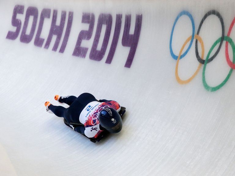 Lizzy Yarnold: On course for a gold medal