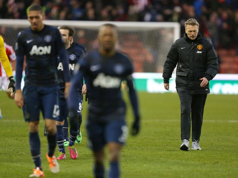 Manchester United suffered a 2-1 defeat at Stoke