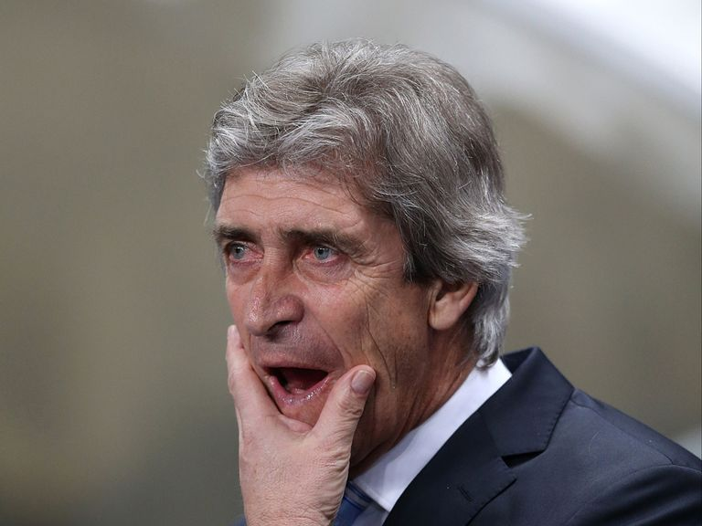 Pellegrini: His side need a win to stay in the title race