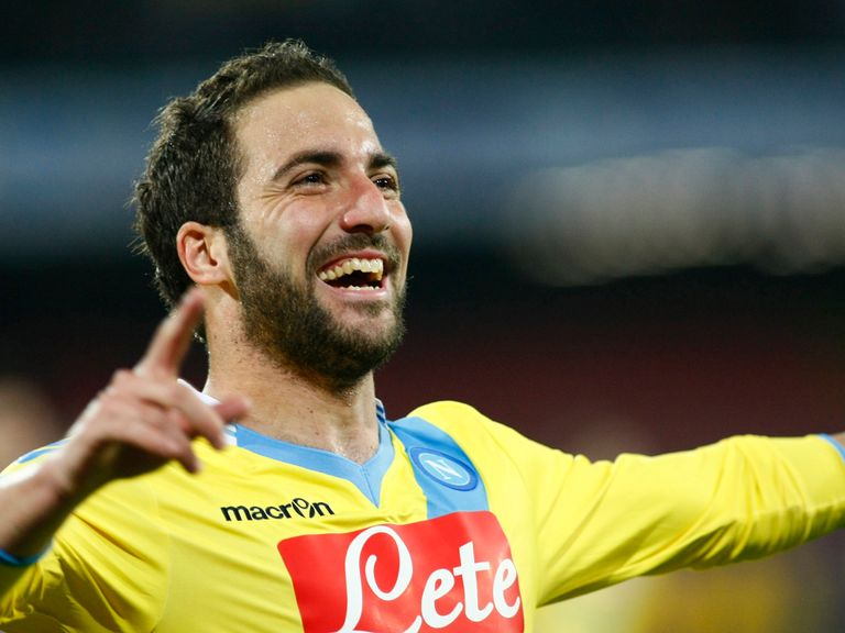 Gonzalo Higuain: Loving life in Naples