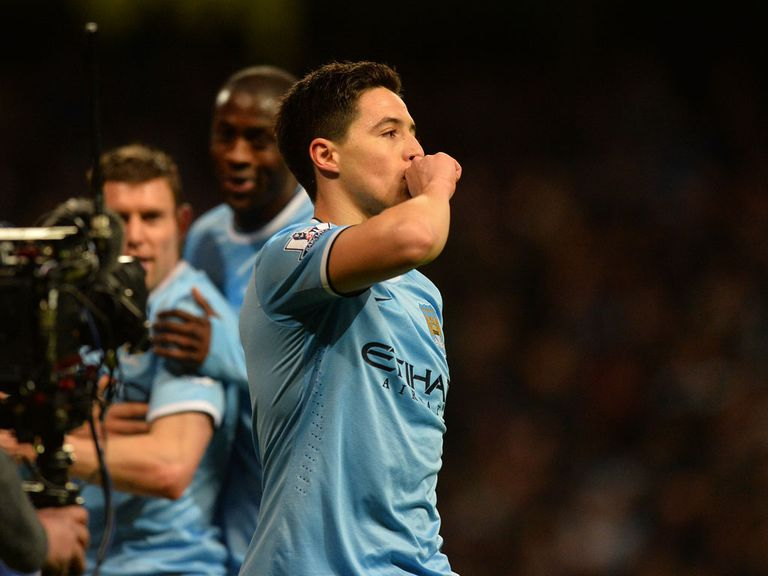 Samir Nasri: Was thrilled to contribute with a goal on his return