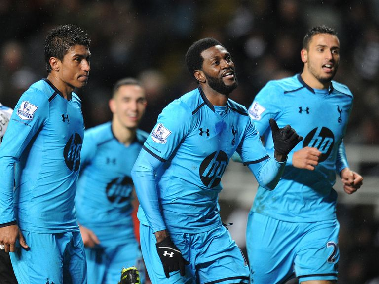 Emmanuel Adebayor can help Spurs to another away win