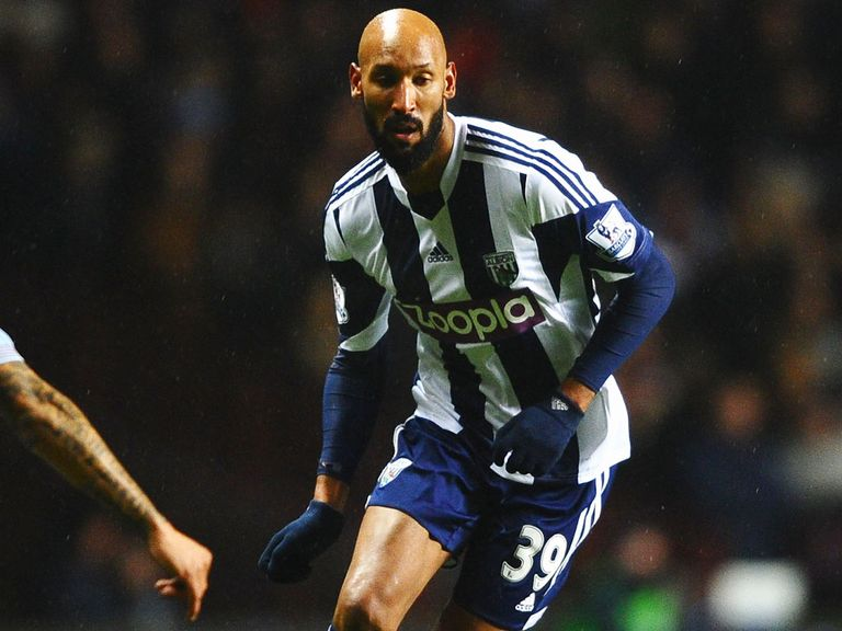 Nicolas Anelka: Leaving West Brom