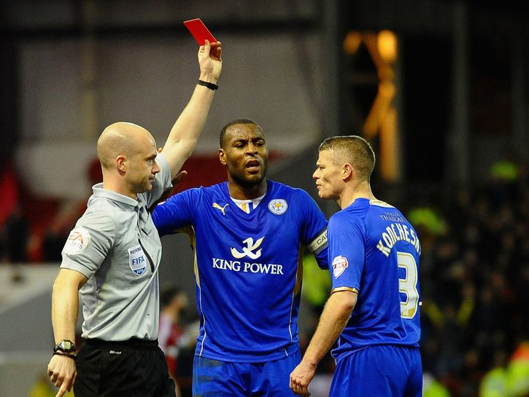 Paul Konchesky: Suspended for Leicester