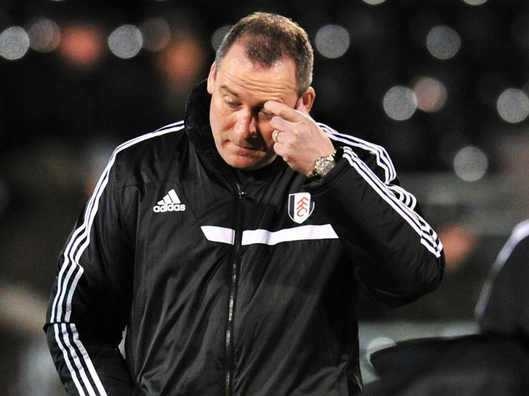 Rene Meulensteen: Already under pressure at Fulham
