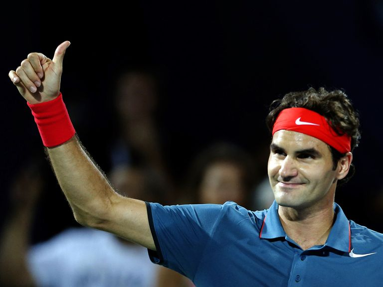 Roger Federer: Battled back from set down to win in Dubai