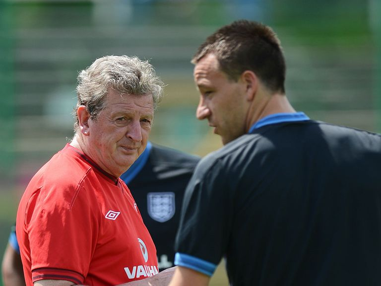 Roy Hodgson: Terry is not in my plans