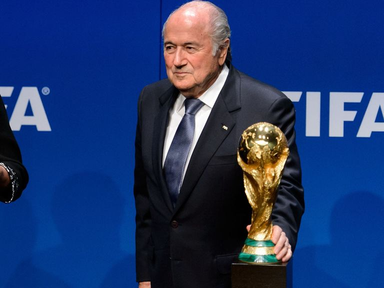 Sepp Blatter: Happy the issue is in the hands of the ethics committee