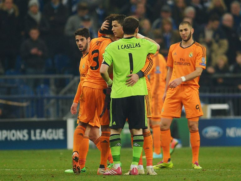 Real Madrid are 4/1 with Sky Bet to win the Champions League
