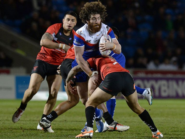 Kyle Amor's return will help St Helens on Friday