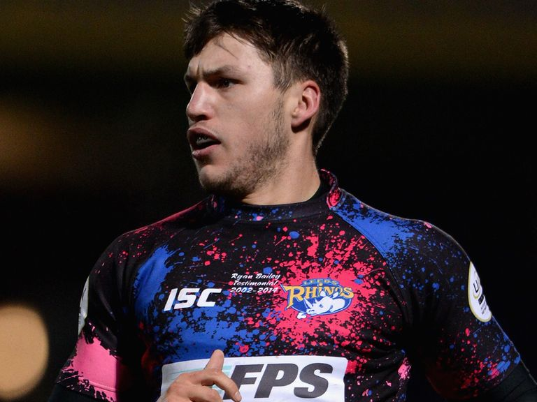 Tom Briscoe: New signing for the Rhinos
