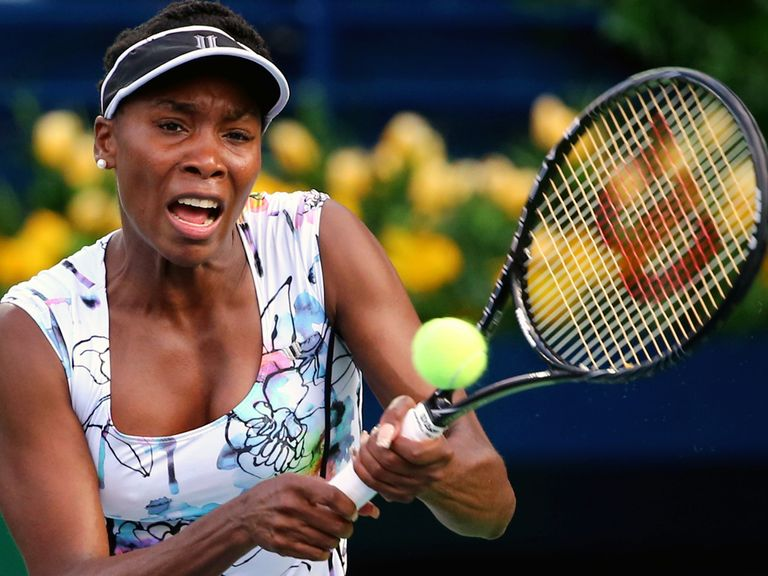 Venus Williams: Through to the last eight in Dubai