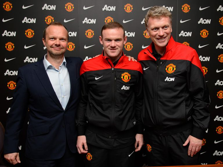 Wayne Rooney: Signs a new deal at Manchester United