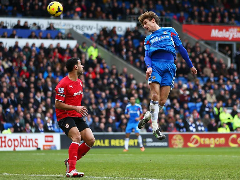 Nikica Jelavic: Looked back to his best last weekend