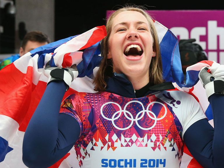 Lizzy Yarnold: Awaiting medal - and valentine's card