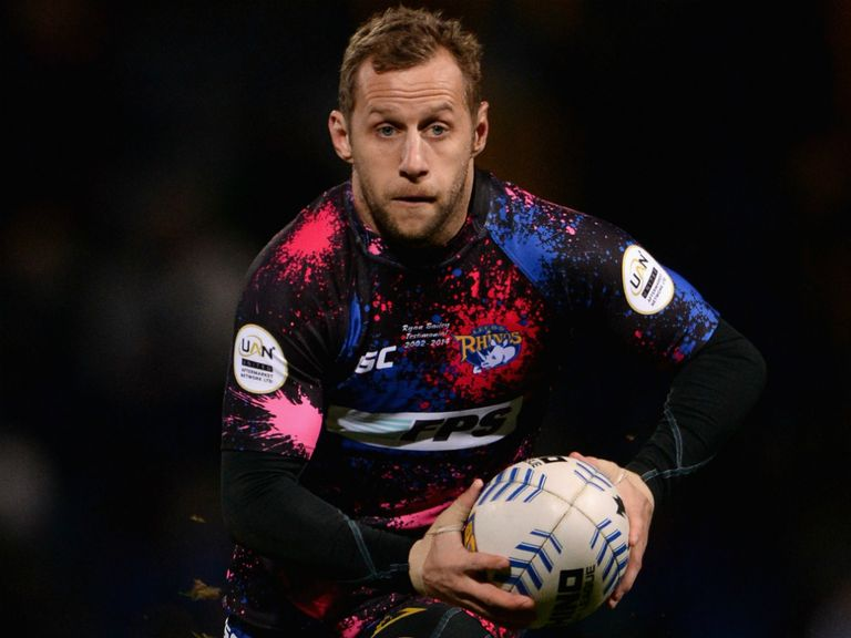 Rob Burrow: Set for his 400th game for the Rhinos