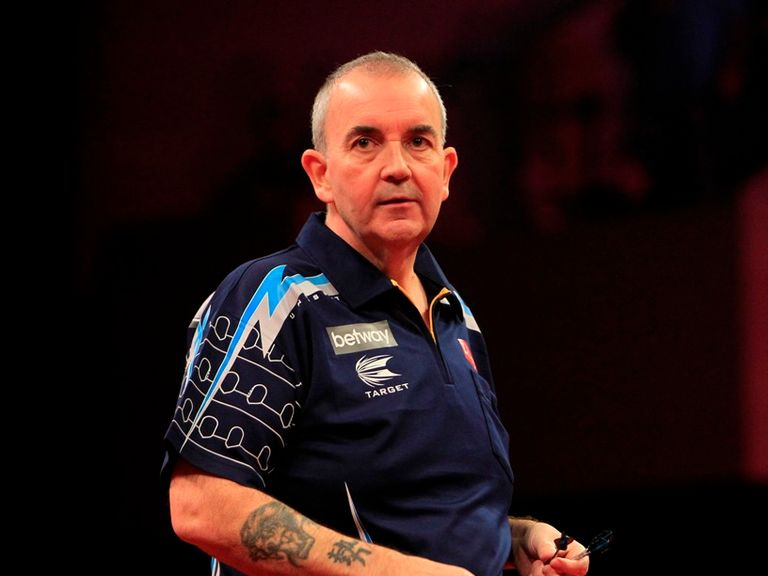 Phil Taylor: Had a liking for double 16 in his victory over Simon Whitlock