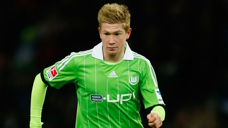 Kevin De Bruyne: Is now back in the Bundesliga with Wolfsburg