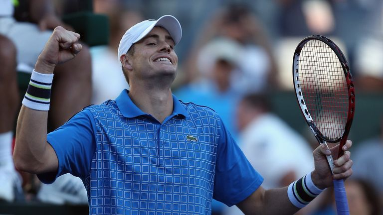 John Isner: through to the semi-finals at the Indian Wells ATP Masters