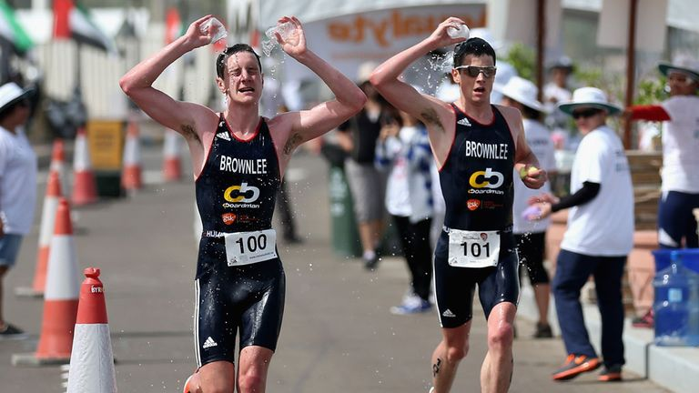 Brownlee brothers: Win the Abu Dhabi Triathlon
