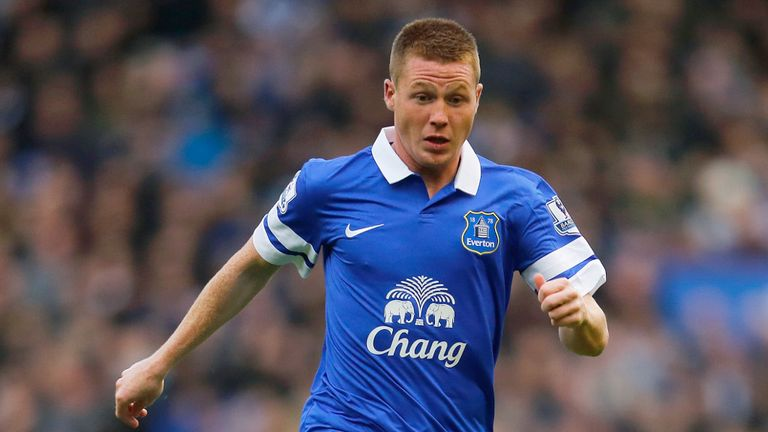 James McCarthy: Has shaken off a niggling ankle problem