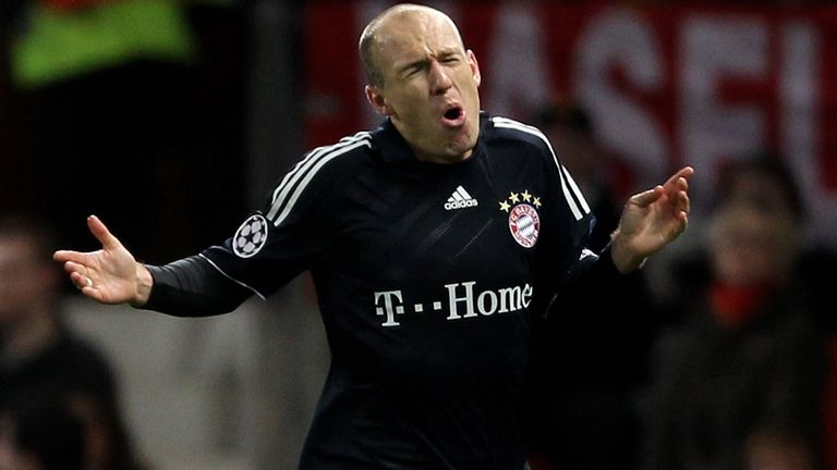 Arjen Robben: Does not see Man United challenging Bayern