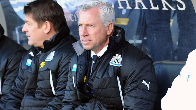 Alan Pardew: Happy with transfer plans