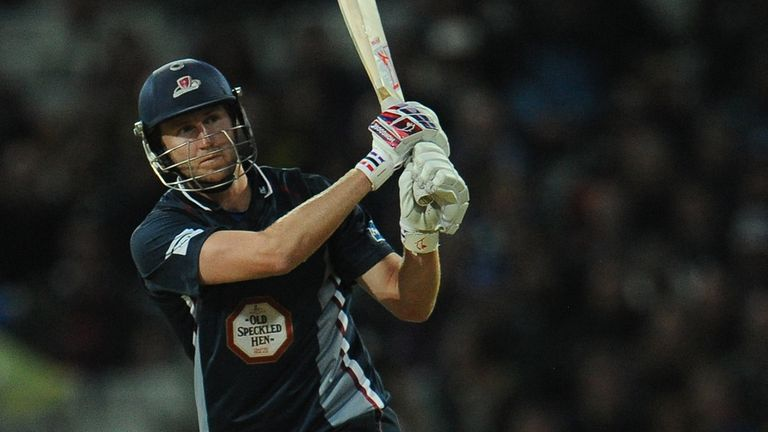 Alex Wakely: Skippered Northants to Twenty20 success last season