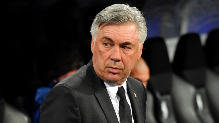 Carlo Ancelotti: Takes Real Madrid to Real Valladolid
