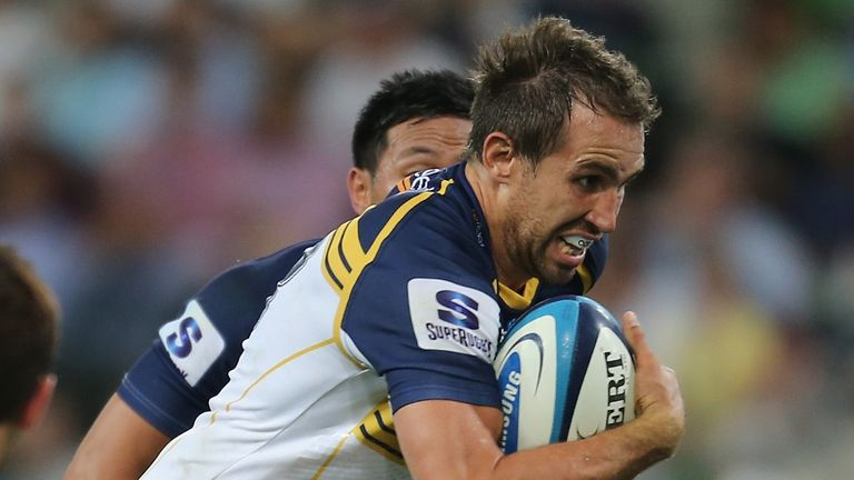 Andrew Smith: Will join Munster following the culmination of the Brumbies' Super Rugby campaign