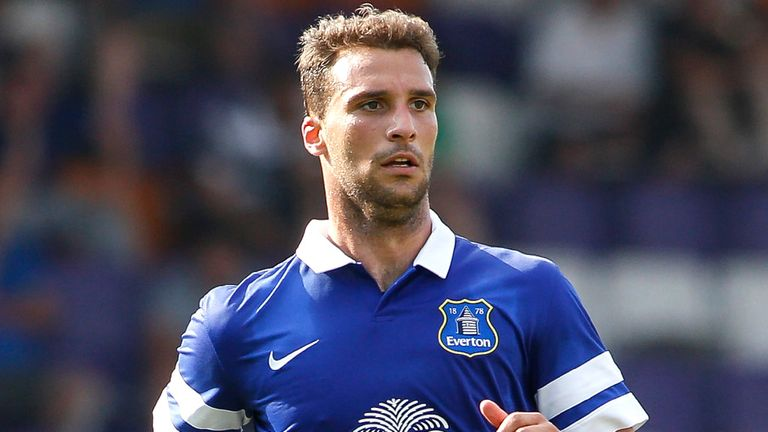 Apostolos Vellios: Greek striker released by Everton
