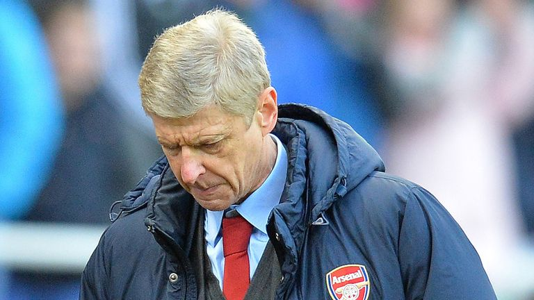 Arsene Wenger: Saw Arsenal's title hopes significantly dented on Saturday