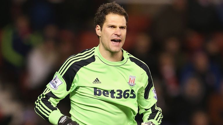 Asmir Begovic: Committed to his long-term contract at Stoke