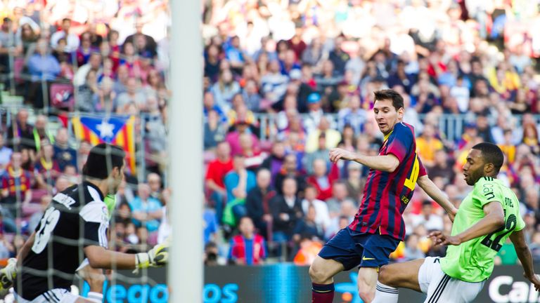 Lionel Messi: Barcelona ace is now the club's all-time leading scorer