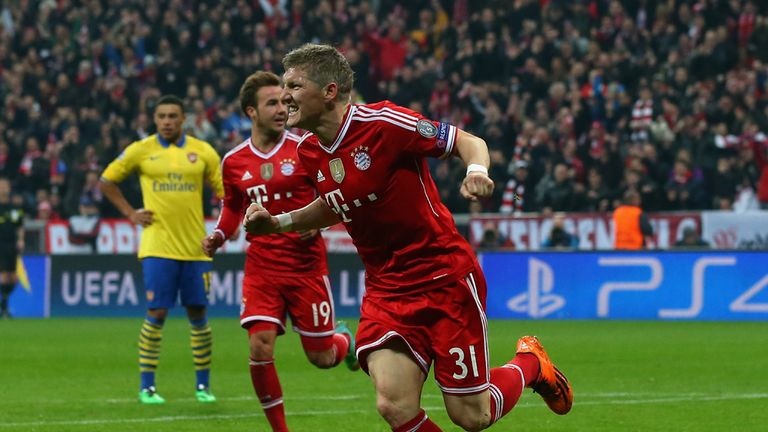 Bastian Schweinsteiger: Doubtful for German Cup final
