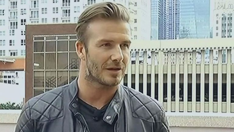 David Beckham: Keen to secure some public funding for Miami stadium
