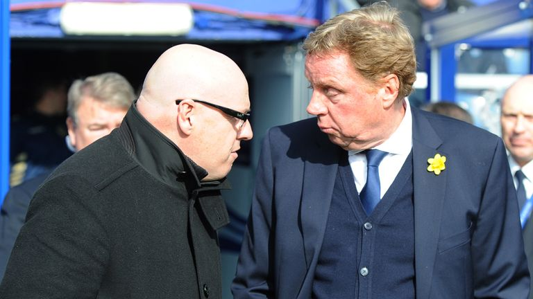 Harry Redknapp (right): Injuries to key players at Loftus Road